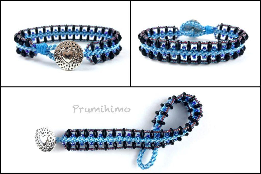 Blue desdemona bracelet