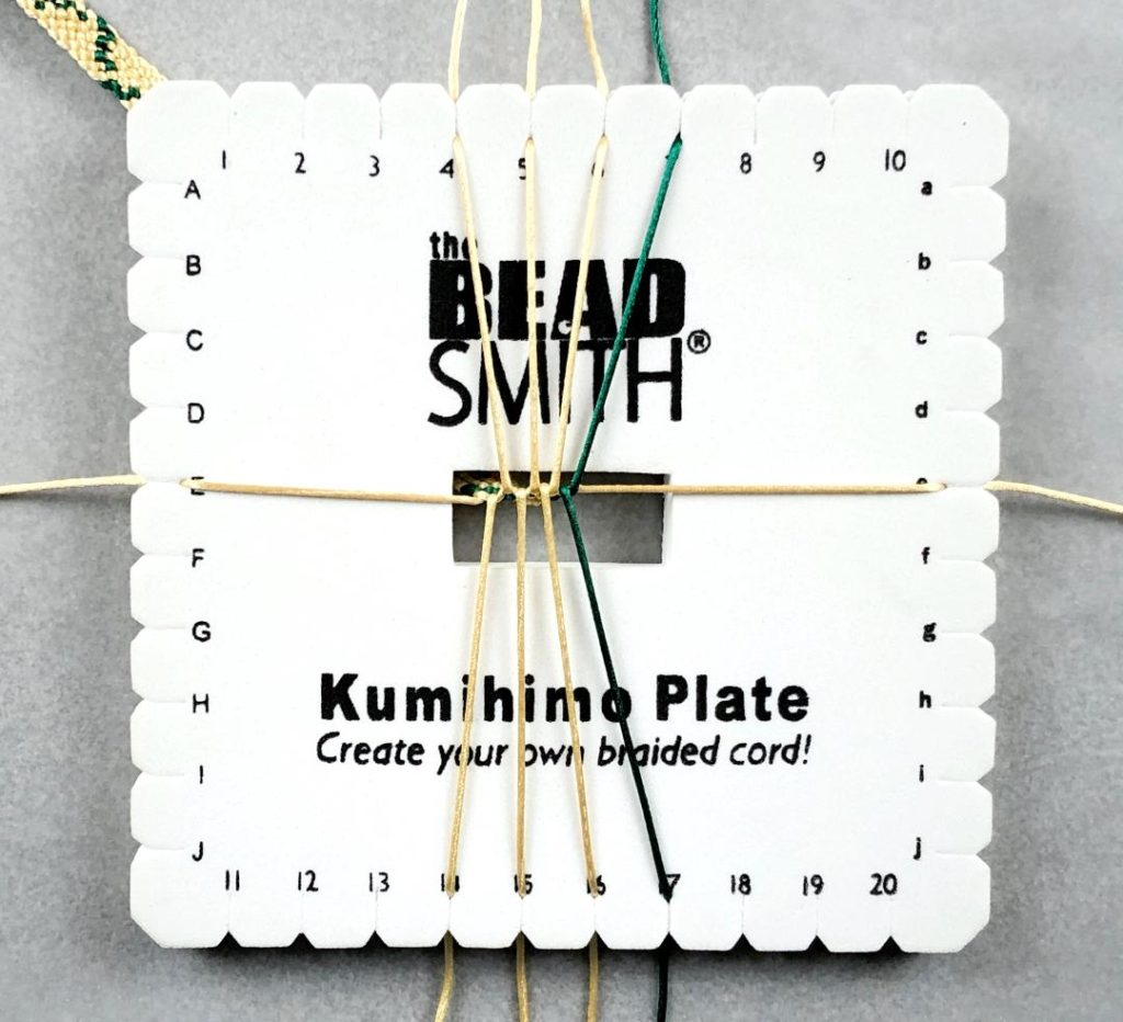 Kumihimo Flat Braid
