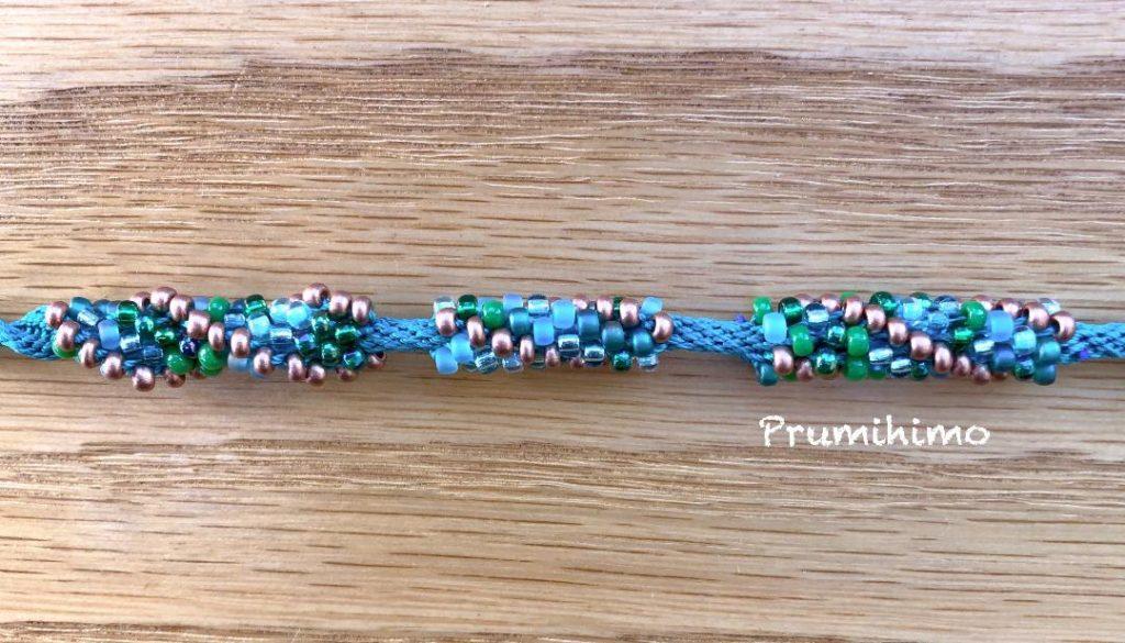 Kumihimo spiral braid