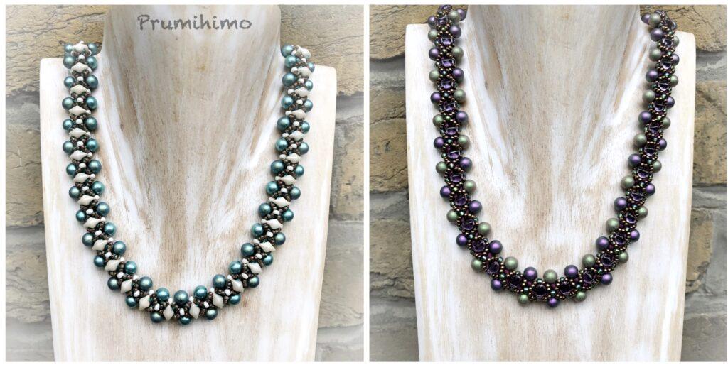 Tudor Diamonds Kumihimo