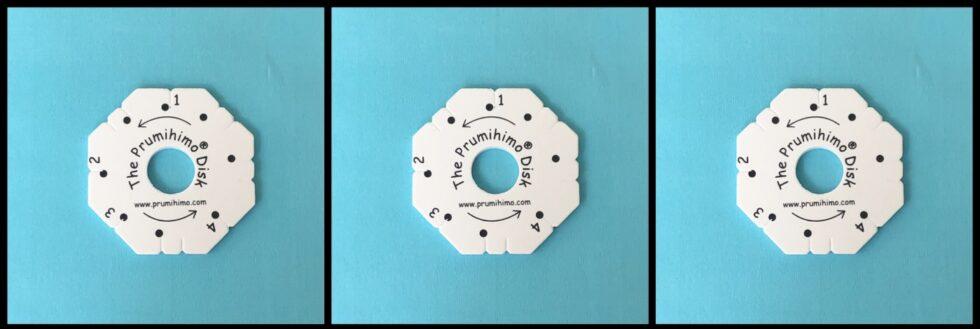 Prumihimo disk